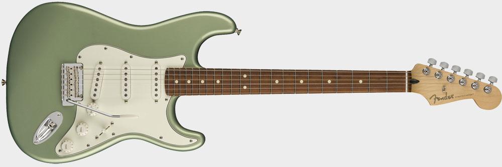 Fender Player Stratocaster PF, Sage Green Metallic