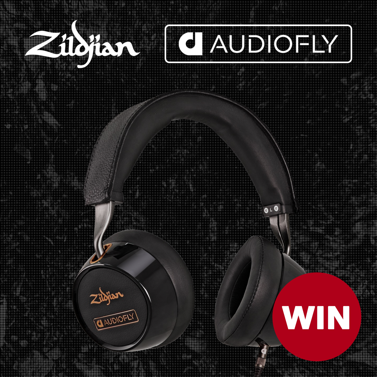 Win AudioFly Zildjian Headphones