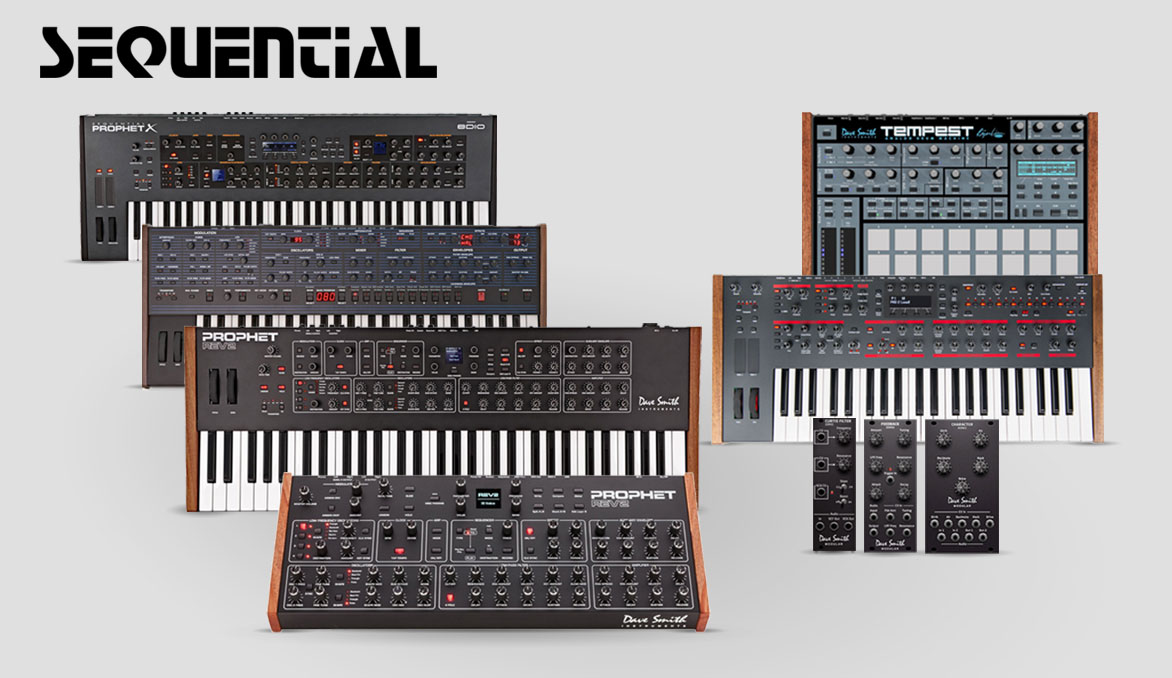 Sequential Synthesizers and Modules (formerly Dave Smith Instruments)